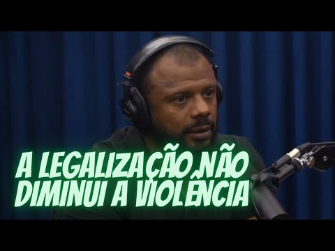 delegado da cunha fala sobre legalizao da maconha/ Flow Podcast