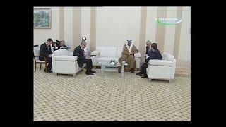 Шавкат Мирзиёев встретился с главой МИД Кувейта шейхом Сабахом Халидом ал-Хамадом ас-Сабахом