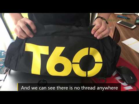 Sport Gym Bag Fitness Travel Handbag Outdoor Backpack Separate Space For Shoes
