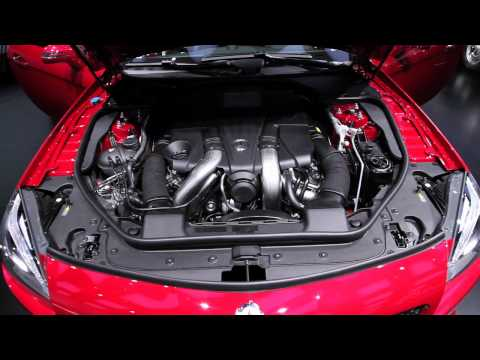 2013 Mercedes-Benz SL - 2012 Detroit Autoshow