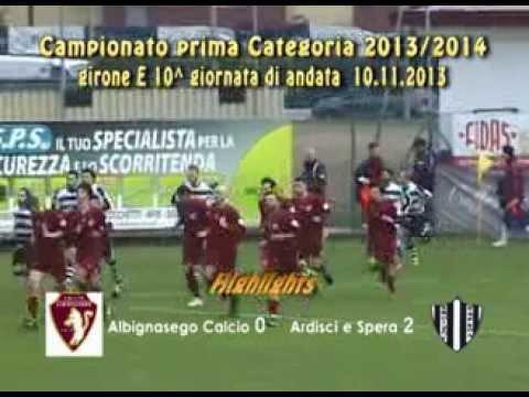 Preview video ALBIGNASEGO cALCIO - ARDISCI E SPERA 0-2 (10.11.2013)