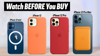 iPhone 12 Buyer's Guide - DON'T Make these 12 Mistakes!