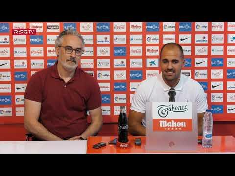 Vídeo de la presentación del defensa como nuevo jugador del equipo asturiano.