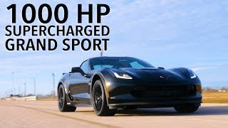 Hennessey HPE1000 Supercharged Corvette Grand Sport in Action