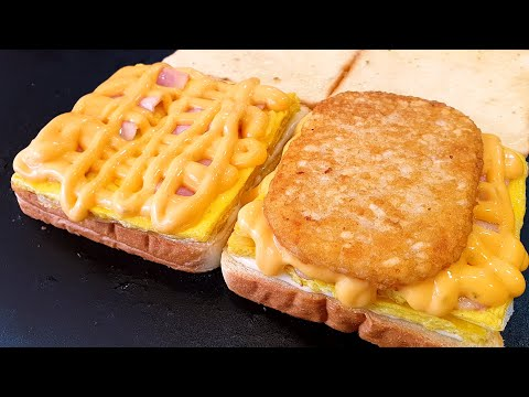 Korean Best toast |Deep cheese bacon toast | Deep Cheese Potato Toast
