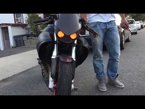 Buell 1125r converted to 1125cr
