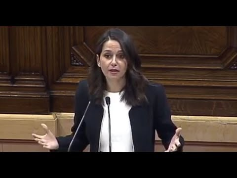 INES ARRIMADAS (C's) - Debate INDEPENDENCIA de CATALUÑA (10/10/2017) HD Mp4 3GP Video and MP3
