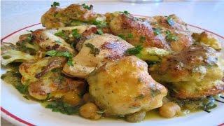 اكلات جزائرية سهلة |شوفلور في الفرن| قرنبيط بالفرن| وصفات طبخ سهلة