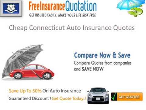 Connecticut Auto Insurance Company - Connecticut Auto Insurance Rates