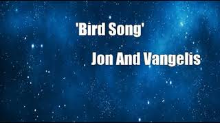 'Bird Song' (Jon And Vangelis Cover)