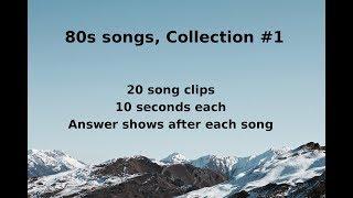 Name That Song! 80s Music Quiz #1 (QNTSQ)