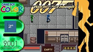 007 The World Is Not Enough   Game Boy Color