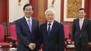 Tổng Bí thư Nguyễn Phú Trọng tiếp Đặc phái viên của Tổng thống Hàn Quốc