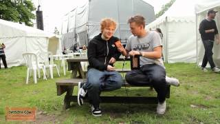 Ed Sheeran INTERVIEW -  Live at Thetford Forest - Ont' Sofa