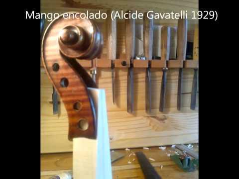 Cambio de mango en los instrumentos de arco