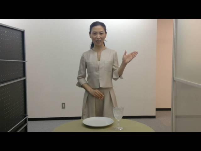 料理の取り方~立食のマナー ワンポイントマナーレッスン24-日本サービスマナー協会
