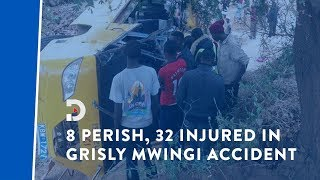9 pupils killed, 32 injured in fatal Mwingi road accident