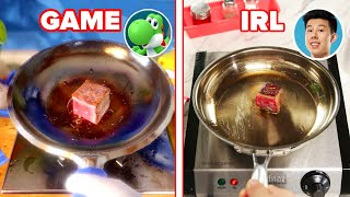 """We Played A """"Mario Party"""" Cooking Minigame In Real Life • Tasty"""