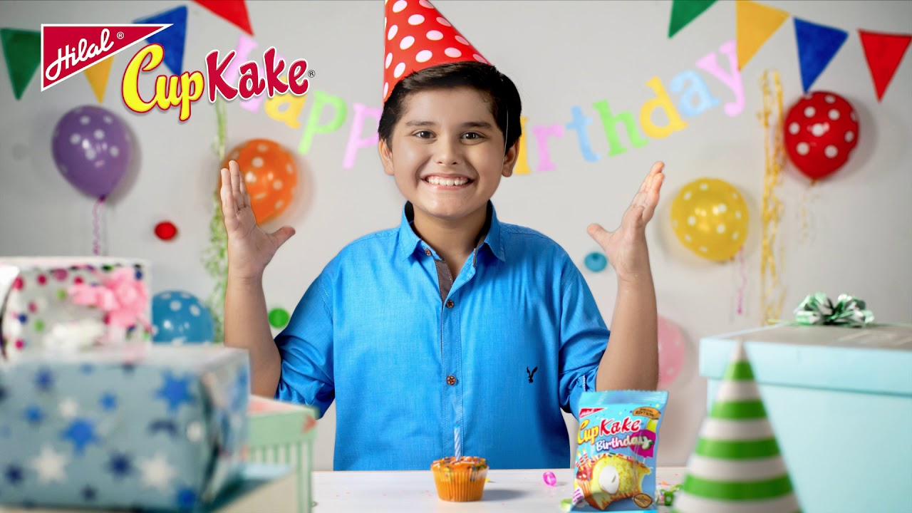 Hilal Birthday CupKake