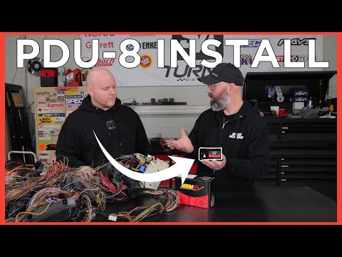 PDU-8 Install with Infinity ECU on Time Attack Racecar!
