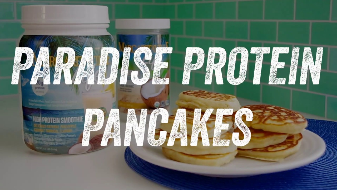 Paradise Protein Pancakes - KetoLiving