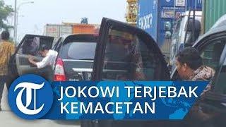 Mobil Presiden Jokowi dan Paspampres Terjebak Macet