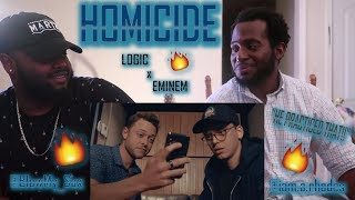 Logic   Homicide Ft. Eminem (Official Video) *HILARIOUS REACTION!!!*| YBC ENT.