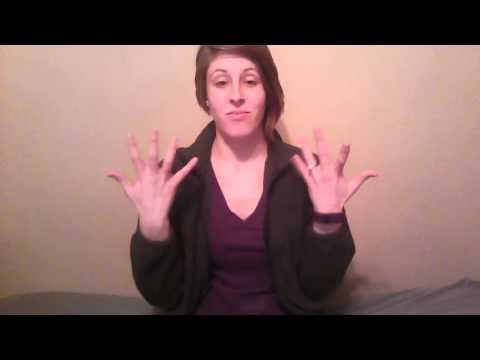 A Basic Course in ASL Vocab Lesson 5 - YouTube