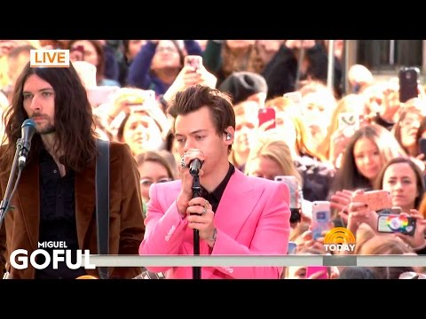 Harry Styles - Sign Of The Times (Live on Today Show)