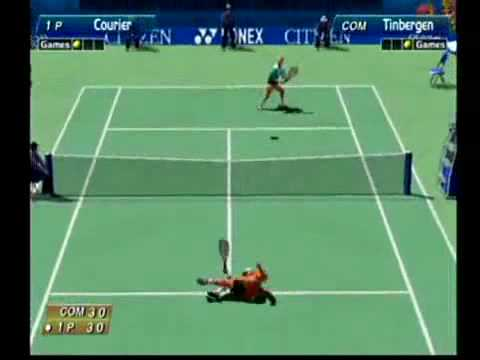 virtua tennis dreamcast unlock players