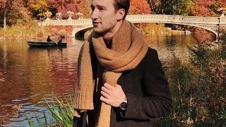 How To Wear A Chunky Knit Scarf   One Dapper Street Tutorial