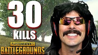 "DrDisRespect's ""30-KiII Duo Game"" on PUBG with Shroud!"