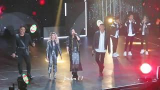 Regine Velasquez with KZ, Bamboo, Jed, TNT Boys