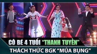 Việt Hương, Quang Lê, Quốc Đại 'bị' cô bé 4 tuổi cực dễ thương thách thức múa bụng | Teaser