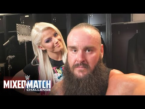 Don't miss Strowman & Bliss vs. Zayn & Lynch in Mixed Match Challenge next week