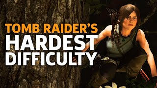 You Should Play Shadow Of The Tomb Raider On Hard