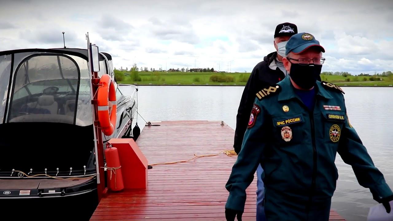 В Тверской области сотрудники ГИМС проводят рейды по базам стоянок маломерных судов