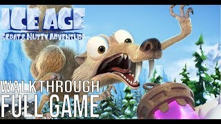 Ice Age Scrat's Nutty Adventure Gameplay Walkthrough Part 1 Full Game - No Commentary (#IceAge)