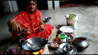 INDIAN VILLAGE MORNING ROUTINE 2018 | DAILY INDIAN KITCHEN ROUTINE |  VILLAGE COOKING STYLE