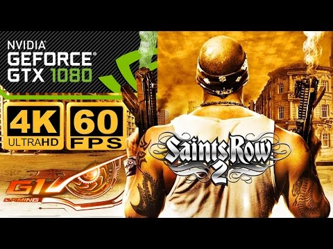 4k Resolution not appearing in settings :: Saints Row 2