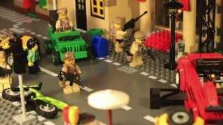 Лего Зомби Апокалипсис мультфильм/ Lego Zombie city attack/ Приключения Кондора 5 бонусная серия