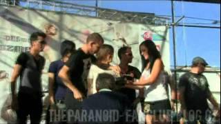 The Paranoid křtí CD kapele Desmod