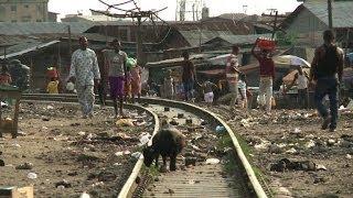 preview picture of video 'Megacity Lagos platzt aus allen Nähten'