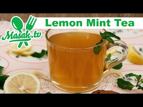 Video Lemon Mint Tea | Minuman #083