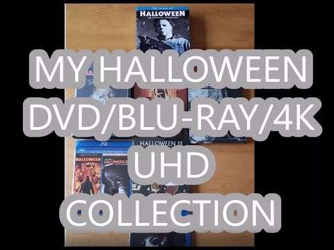 My Halloween Movie Collection