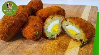 Egg Kabab | کوفته نرگسی با کچالو