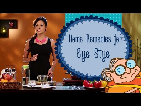 Video Home Remedies for Eye Sty (Stye) - How To Get Rid Of A Eye Stye - Causes, Symptoms & Treatment.