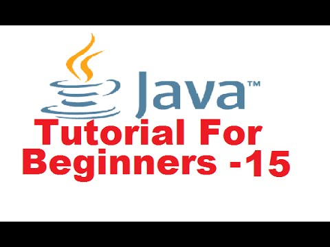 Java Tutorial For Beginners 15 – Java String