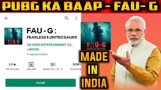 Akshay Kumar New Game Launched FAU-G | GAME LIKE PUBG MADE IN INDIA | FAU-G FEARLESS & UNITED