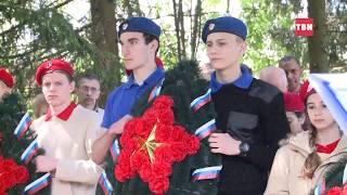 Захоронение погибших в ВОВ бойцов в д. Лукино